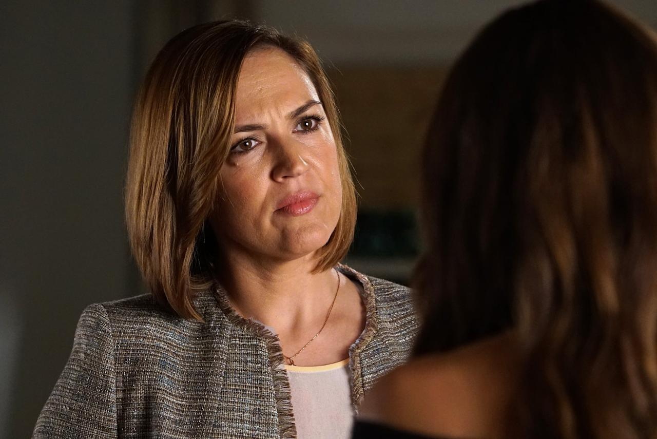 <p>I hesitate to put Veronica below Pam, because she is a powerful lawyer and role model who raised two incredibly intelligent and strong-willed women. May we never forget her storming in and telling off Det. Wilden for questioning the girls without a parent present. That said, she did lie to Spencer for more than 23 years about being adopted and puts immense pressure on her daughters, clearly favoring Melissa over Spencer. Making Spencer Hastings feel inadequate should be a criminal offense.</p>