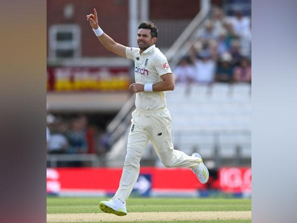 England pacer James Anderson (Photo/ James Anderson Twitter)