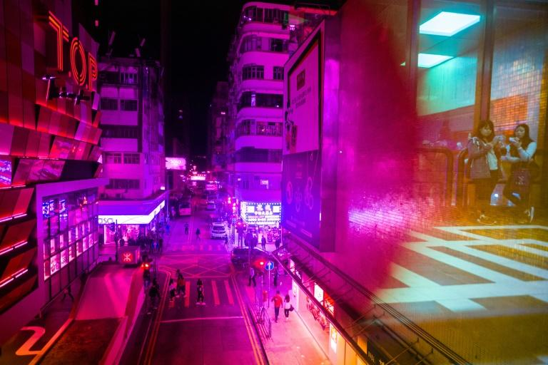 Tourists flock to Hong Kong for its energy and urban character (AFP Photo/Anthony WALLACE)
