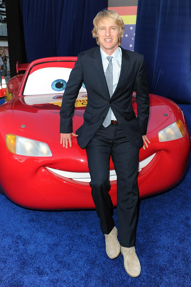 "<a href=""http://movies.yahoo.com/movie/contributor/1800019255"">Owen Wilson</a> at the Los Angeles premiere of <a href=""http://movies.yahoo.com/movie/1810015860/info"">Cars 2</a> on June 18, 2011."
