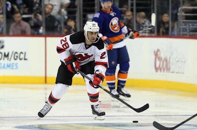 Scott Gomez rejoins NJ Devils, skating with Jaromir Jagr