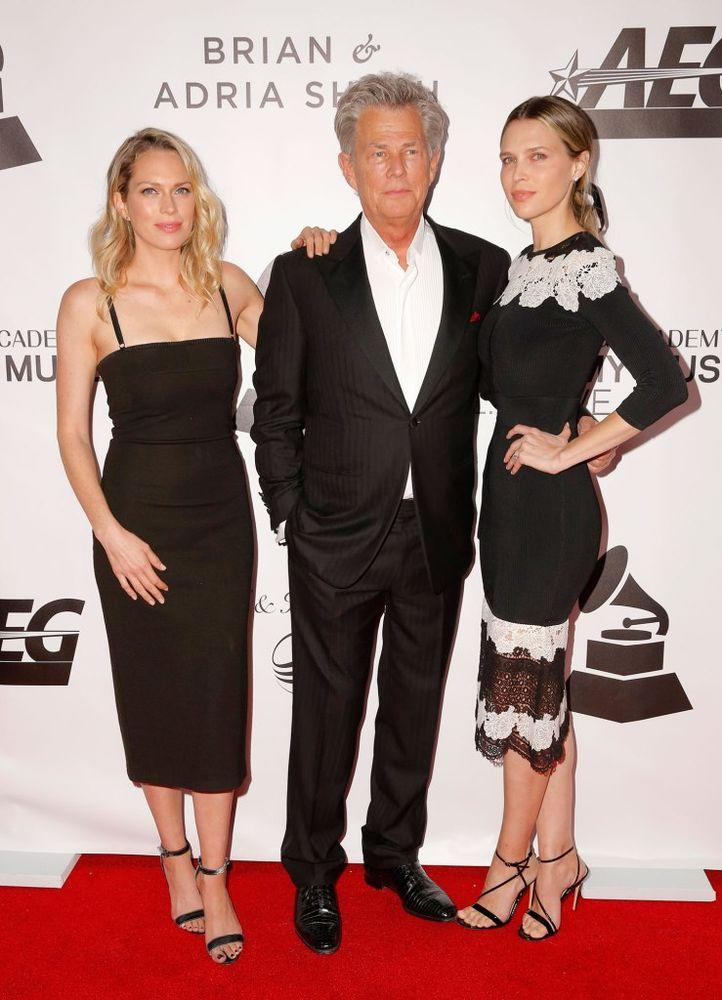 Sara, David and Erin Foster