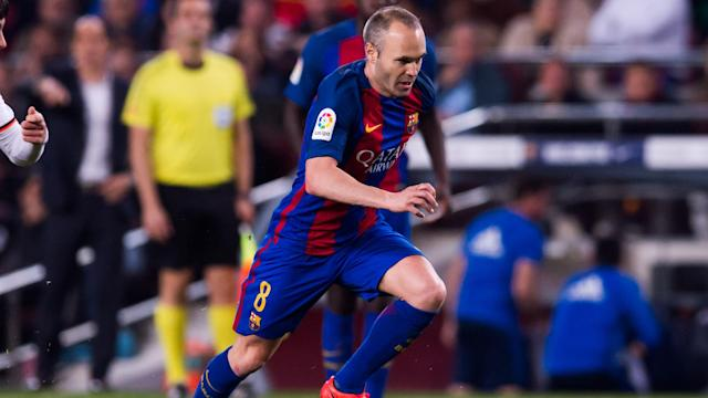 Robert Fernandez believes star midfielder Andres Iniesta will stay at Barcelona for several more years.