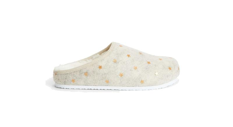 Mini Star Footbed Mule Slippers