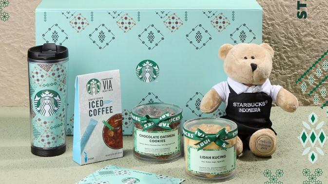Hampers Lebaran dari Starbucks. (dok. Starbucks Indonesia)