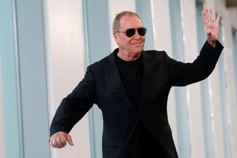 1d5498032d FILE PHOTO: Designer Michael Kors waves after the showing of his  Spring/Summer 2019