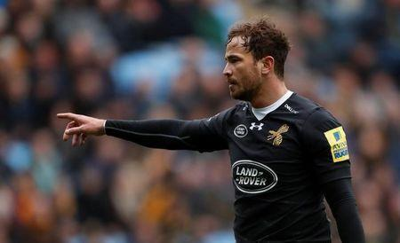 Wasps' Danny Cipriani gestures. Action Images/Andrew Boyers