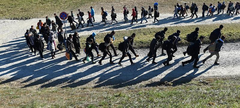 The EU introduced the emergency measures to cope with the migrant influx in 2015 (AFP Photo/Christof Stache)