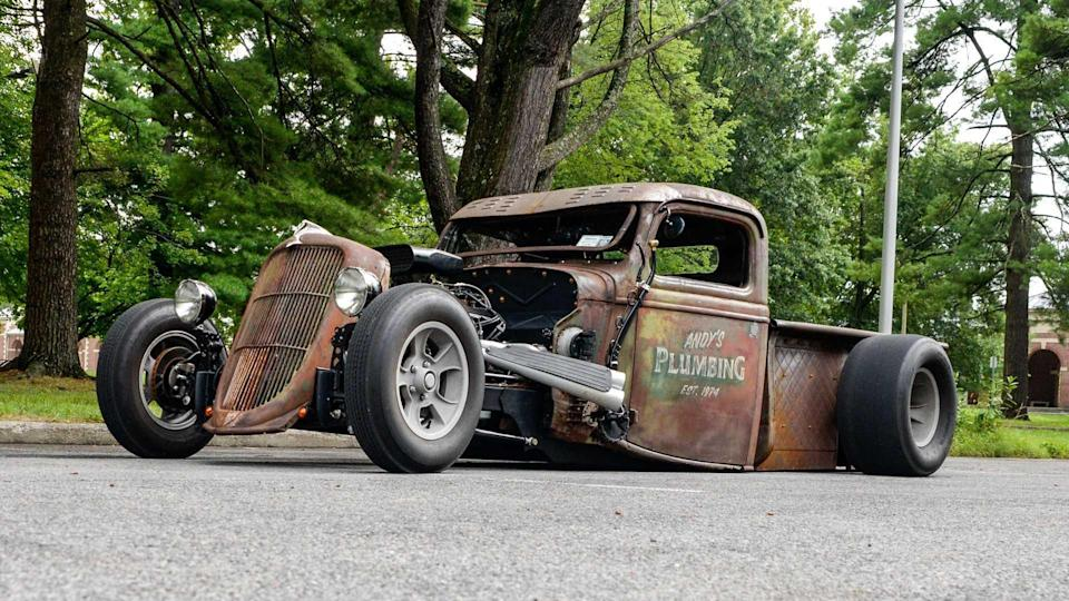1936 Ford Truck Is A Low-Riding Rat Rod