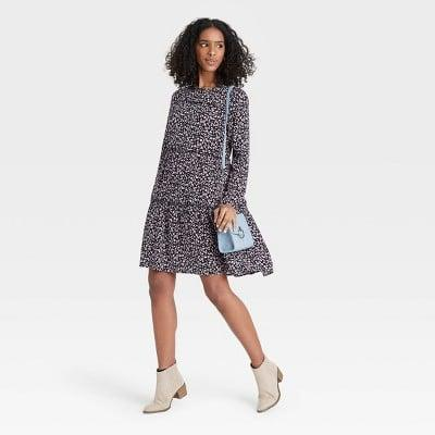 <p>This <span>Knox Rose Long Sleeve Babydoll Dress</span> ($30) is comfy enough to wear all day.</p>