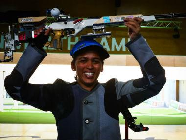 Commonwealth Games 2018: Tejaswini Sawant dedicates gold medal to disabled personnel of Indian Armed Forces