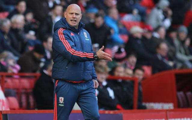 <span>Steve Agnew will take charge of Boro on Sunday</span> <span>Credit: REX </span>