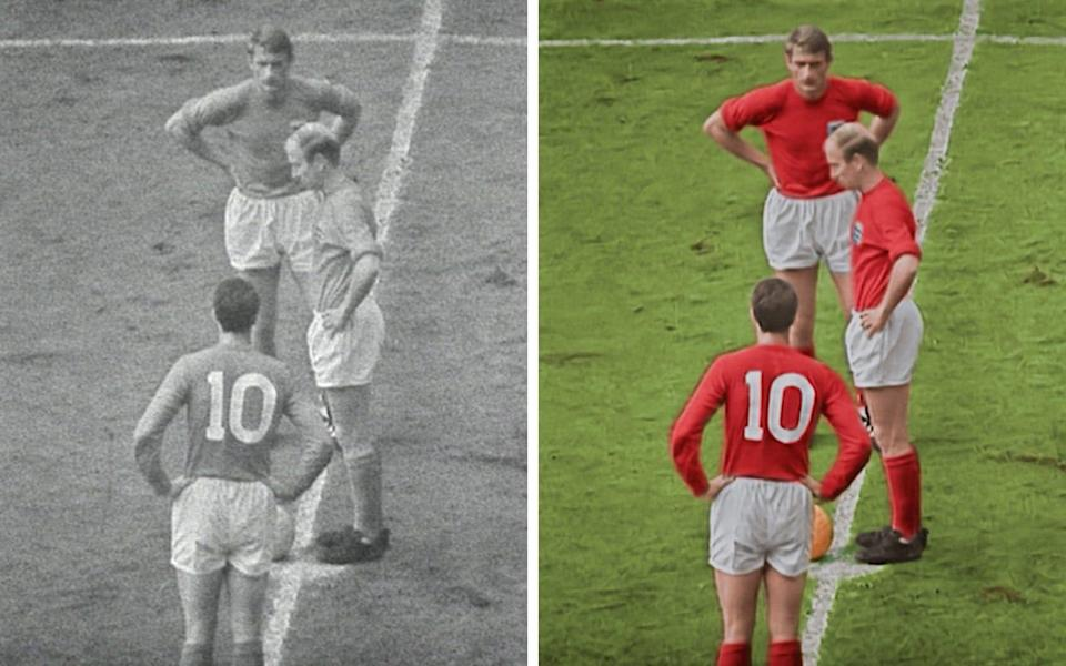 Kick-off, before and after - Film and stills courtesy of Final Replay