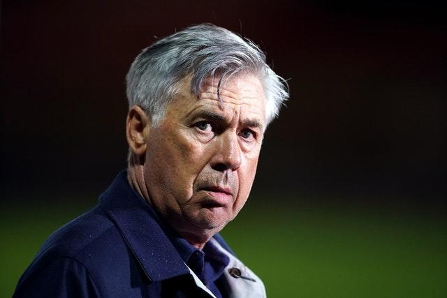 Manager Carlo Ancelotti is changing the mentality at Goodison Park
