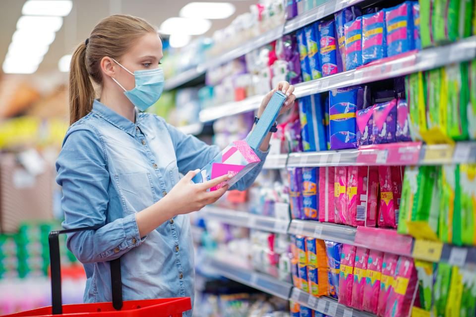 Pads, tampons, cups and similar products often have been hard to come by during the pandemic. (Photo: zoranm via Getty Images)