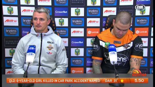 Wests Tigers coach Ivan Cleary is refusing to let their thrashing from Canberra define their NRL season.