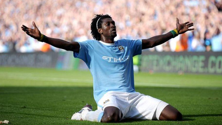 <p>Emmanuel Adebayor arrived to the Premier League as a relatively unknown 22-year-old, but left in 2016 as a man known more for his controversy than his 97 goals - the highest outside of the 100 club.</p> <br /><p>46 goals for Arsenal and a spot in the 2007-08 PFA Team of the Year resulted in a £25m move to Manchester and, after a short spell on loan at Real Madrid, then onto Tottenham Hotspur and a barren six months at Crystal Palace.</p> <br /><p>The Togolese international proved he could finish, after all he did hit double digits in the Premier League in five different seasons. However, Adebayor will always be known for his controversial knee slide celebration in Man City's 4-2 win over former club Arsenal.</p>
