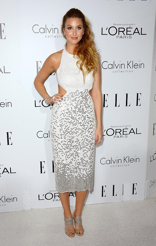 BEVERLY HILLS, CA - OCTOBER 15:  Actress Whitney Port arrives at ELLE's 19th Annual Women In Hollywood Celebration at the Four Seasons Hotel on October 15, 2012 in Beverly Hills, California.  (Photo by Frazer Harrison/Getty Images)