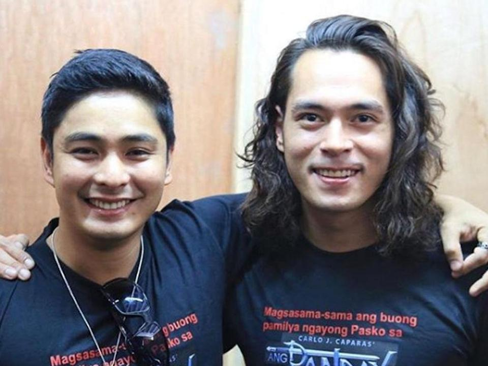 Jake Cuenca enjoys working with Coco Martin again
