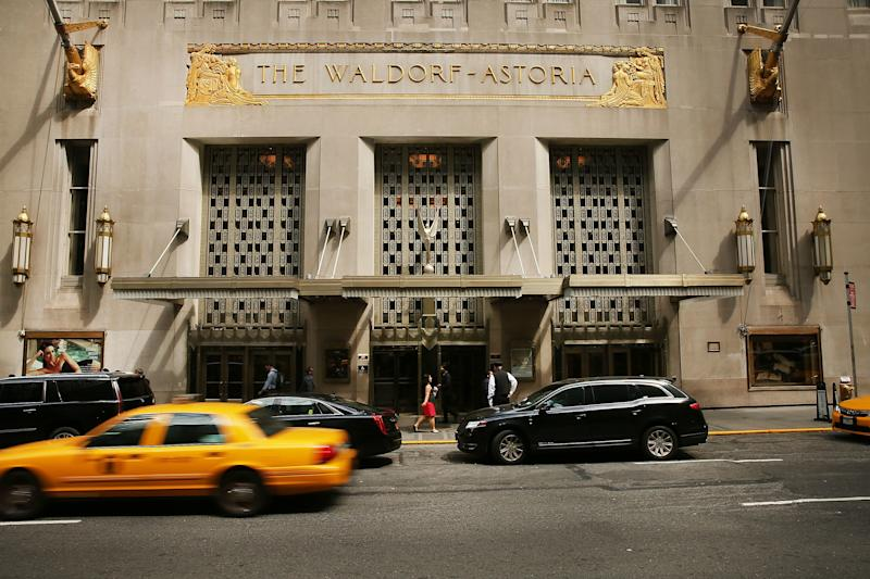 The Waldorf Astoria Is Now Owned by the Chinese Government