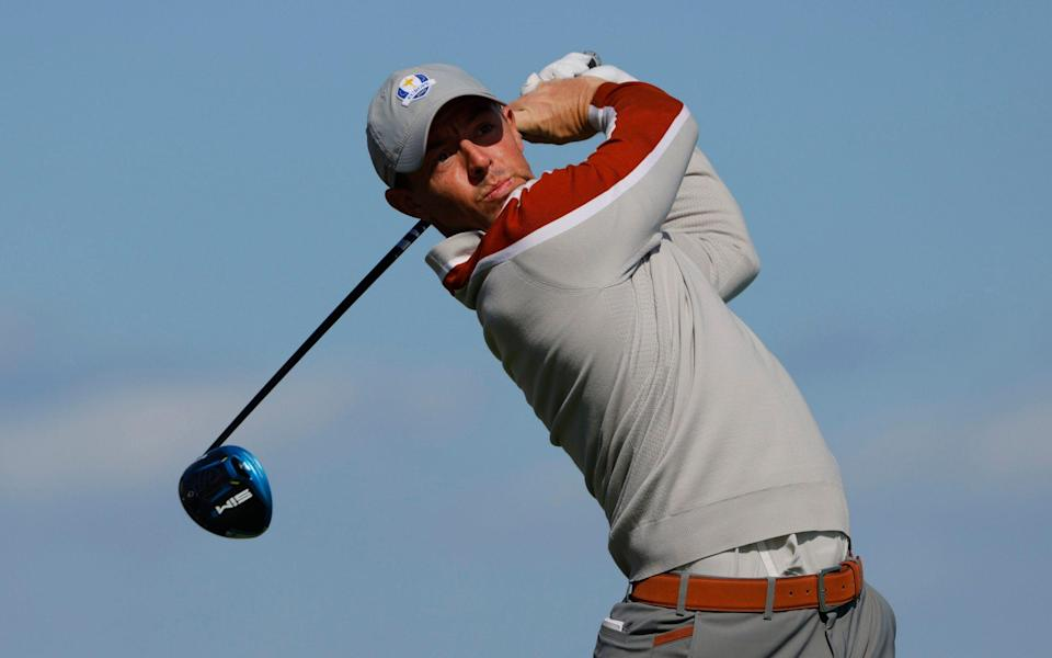 Rory McIlroy had a chastening week at Whistling Straits - REUTERS