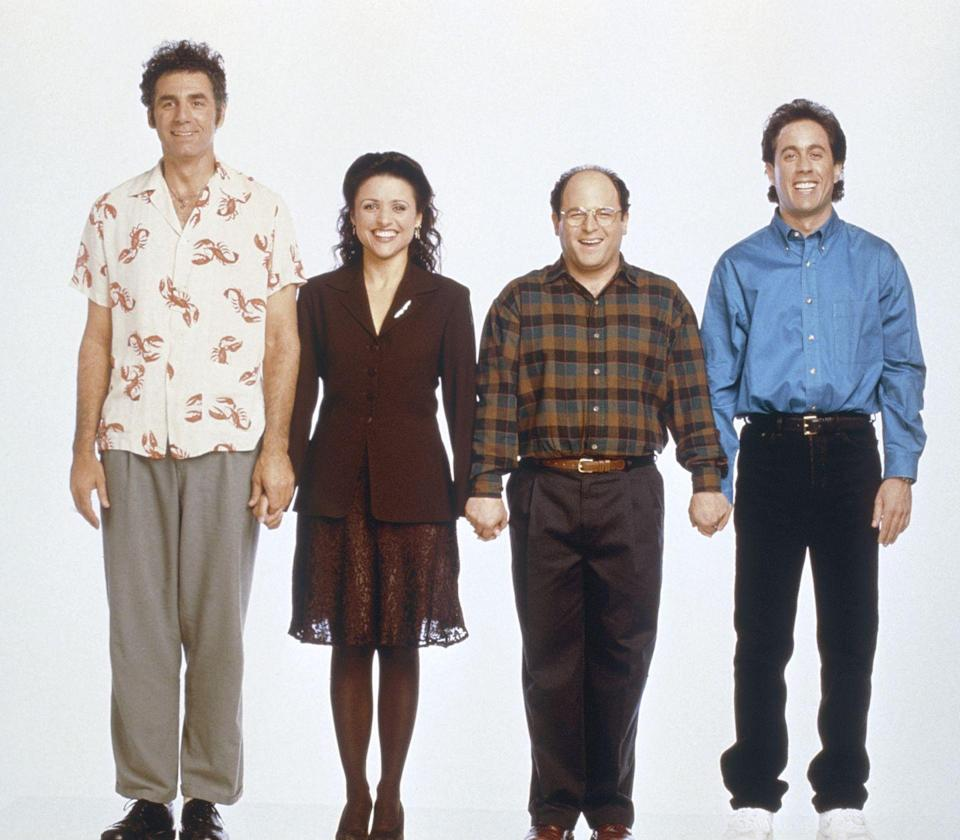 <p>Lasting over nine seasons, <em>Seinfeld</em> had its series finale in 1998 with 76.3 million viewers watching. The show about nothing really seemed to hit on something right... people still quote the show over 20 years later.</p>