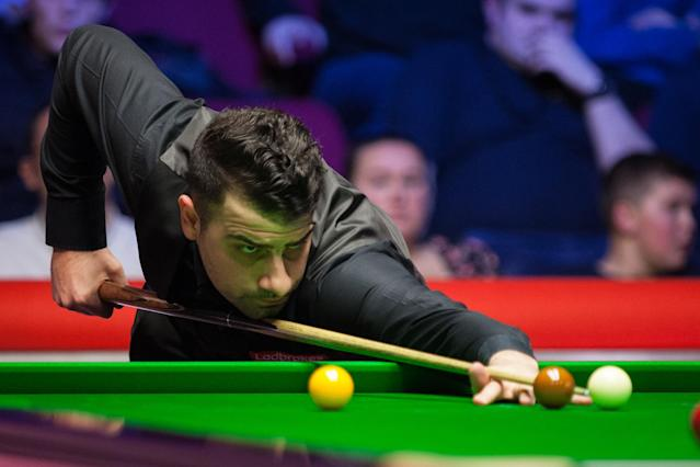 Michael Georgiou was the first player to make a 147 in Germany on Friday