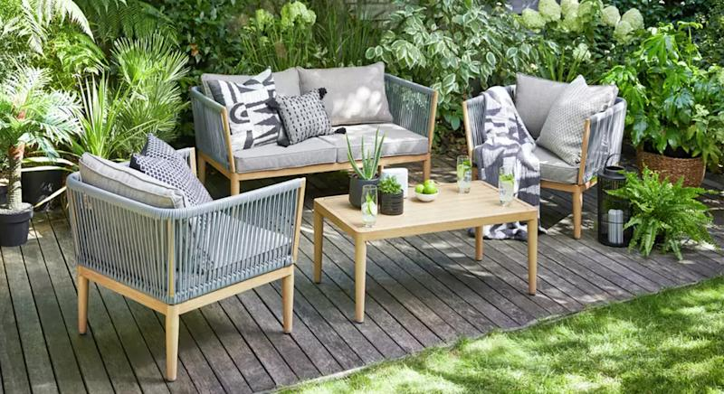 Argos has launched a huge sale on outdoor garden furniture, which includes sun loungers, as well as table and chairs. (Getty Images)