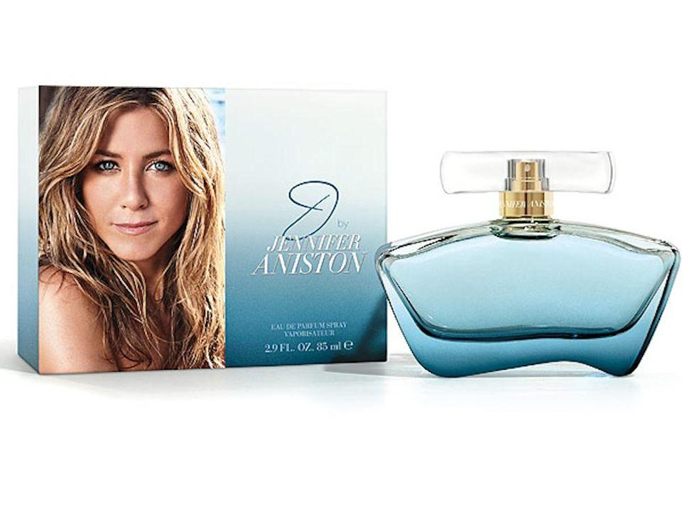 <p>Yep, even Jennifer Aniston has her own perfume brand. No one is safe.</p>