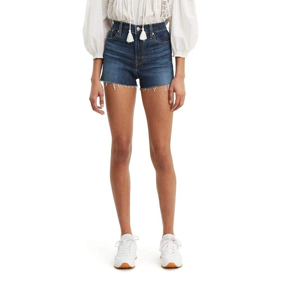 """<br><br><strong>Levi's</strong> Women's High Rise Shorts, $, available at <a href=""""https://amzn.to/3fASMiK"""" rel=""""nofollow noopener"""" target=""""_blank"""" data-ylk=""""slk:Amazon"""" class=""""link rapid-noclick-resp"""">Amazon</a>"""
