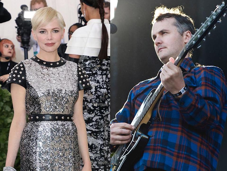 What what? Michelle WIlliams fell in love with and secretly married musician Phil Everum. Now she's spreading the happy news. (Photo: Getty Images)