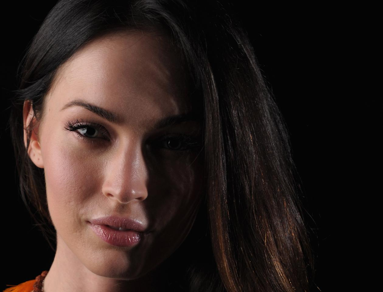 WAILEA, HI - JUNE 15:  Actress Megan Fox poses for a portrait at the 2011 Maui Film Festival at the Celestial Cinema on June 15, 2011 in Wailea, Hawaii.  (Photo by Michael Buckner/Getty Images For Maui Film Festival)