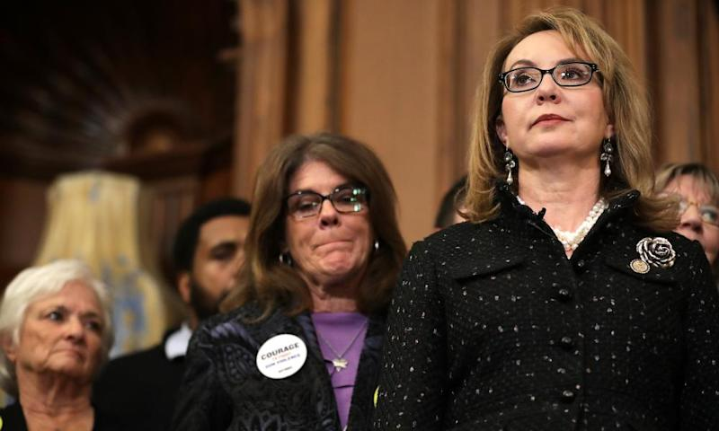 The former Arizona congresswoman Gabby Giffords joins other gun violence survivors and safety advocates to introduce the legislation.