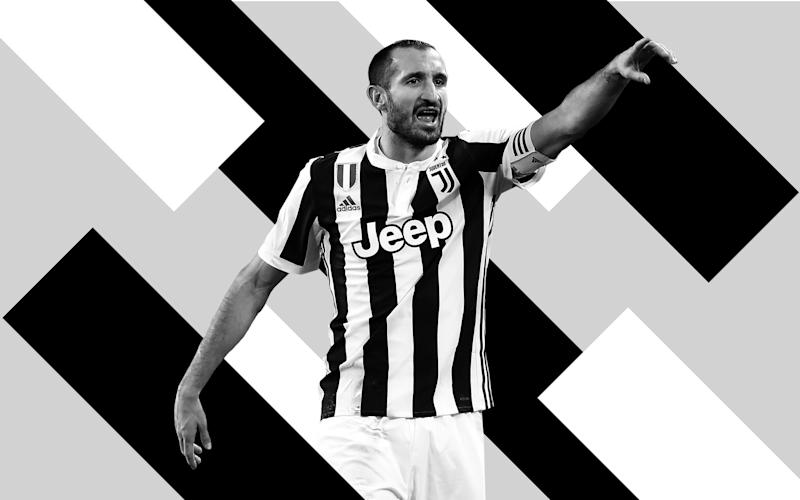 Giorgio Chiellini: The Juventus 'gladiator' with four broken noses and two degrees relishing Real Madrid test