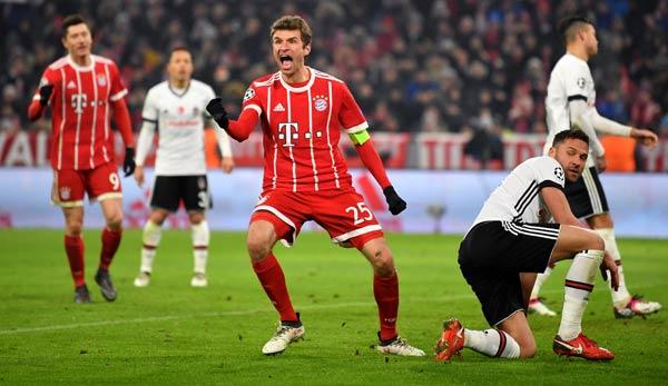 Champions League: So isser, der Müller