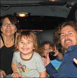 Summer and Joseph McStay, with their children Joseph Jr and Gianni. Source: Facebook/Bring The McStay Family Home