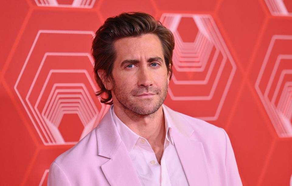 US actor Jake Gyllenhaal attends the 74th Annual Tony Awards at the Winter Garden Theater on September 26, 2021, in New York City. (Photo by Angela Weiss / AFP) (Photo by ANGELA WEISS/AFP via Getty Images)