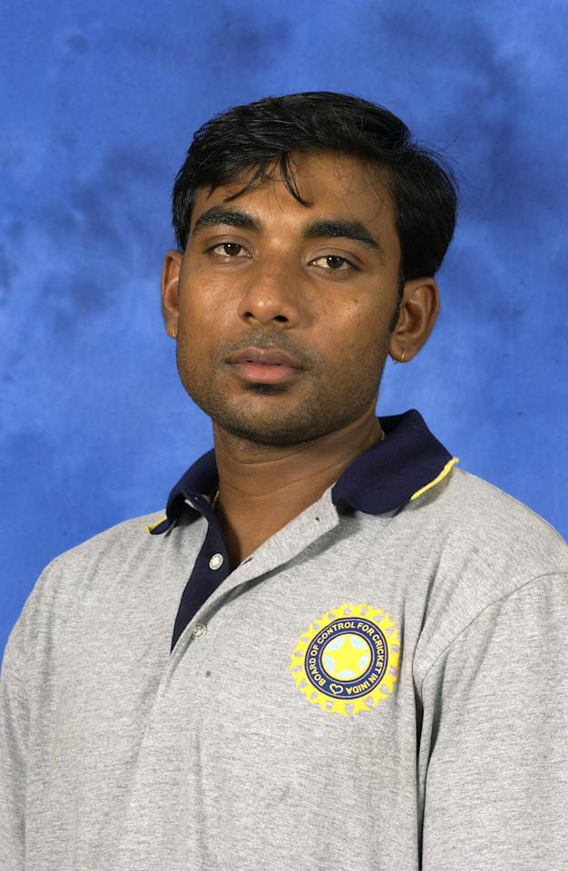COLOMBO - 13 SEPTEMBER:  Portrait of Jai Prakash Yadav of India taken before the ICC Champions Trophy in Colombo, Sri Lanka on September 13, 2002. (photo by Tom Shaw/Getty Images)