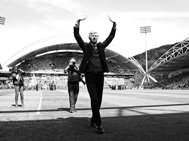 Arsene Wenger ends Arsenal tenure with slim victory over Huddersfield