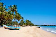 """There's no better time to visit this <a href=""""https://www.cntraveler.com/story/sri-lanka-is-ready-for-its-close-up?mbid=synd_yahoo_rss"""" rel=""""nofollow noopener"""" target=""""_blank"""" data-ylk=""""slk:island nation"""" class=""""link rapid-noclick-resp"""">island nation</a> than in February, when the weather is reliably warm, usually in the high 70s, and there's low rainfall. It's a country that has struggled immensely as a tourist spot since the civil war ended in 2009: numbers had rebounded, with tourists lured there by the evocative tea estates, delicious food, and superb beaches, before the tragic terror attacks in Easter 2019 caused a drastic drop off. The country acted decisively when the coronavirus pandemic hit, shuttering its borders entirely for many months, and it reopened to tourists in early 2021 with careful constraints. The country has created travel bubbles for international visitors, who must stay at designated hotels—including plush properties like the two Aman sites here, one of which is housed in an historic onetime garrison, or the <a href=""""https://www.harithavillas.com/"""" rel=""""nofollow noopener"""" target=""""_blank"""" data-ylk=""""slk:Haritha Villas"""" class=""""link rapid-noclick-resp"""">Haritha Villas</a> in Hikkaduwa, a palm tree-filled estate with luxury villas. For sightseeing, the government has designated certain days to make noteworthy spots like the Sigiriya Fortress and Yala National Park accessible to international visitors, allowing them to enjoy some of the island's best cultural spots without putting the local population at risk. Full details of requirements for entry are available <a href=""""https://www.srilanka.travel/"""" rel=""""nofollow noopener"""" target=""""_blank"""" data-ylk=""""slk:here"""" class=""""link rapid-noclick-resp"""">here</a>."""