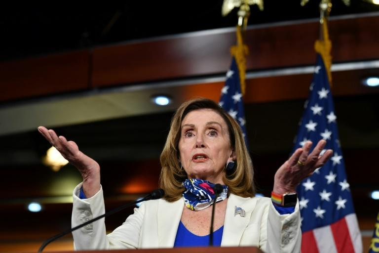 US Speaker of the House, Nancy Pelosi, is unlikely to agree to stand alone aid bills that President Trump has called for, since that would surrender leverage to win support for state and local governments
