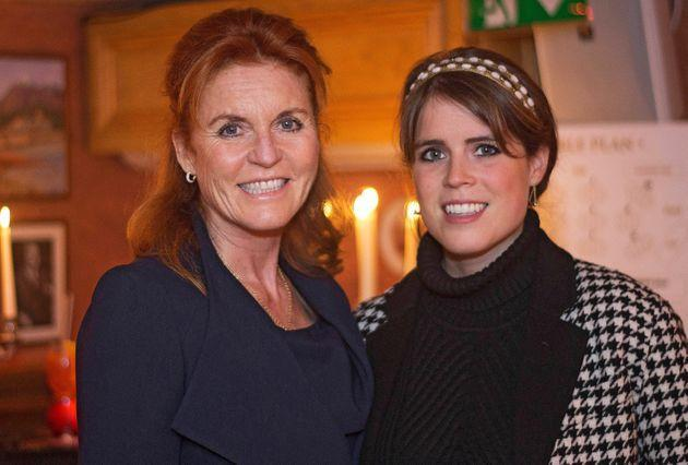 The Duchess of York and Princess Eugenie attend The Miles Frost Fund party at Bunga Bunga Covent Garden on June 27, 2017, in London. (Photo: David M. Benett via Getty Images)
