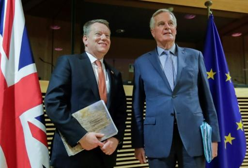 Talks have been led by EU negotiator Michel Barnier and his British counterpart David Frost