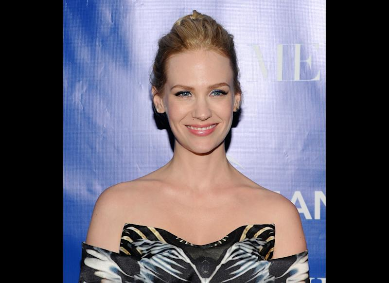 Although we can partially blame this one on the hounding paparazzi, January Jones might consider enrolling in a few driving obstacle courses. While being chased by photographers in West Hollywood, the actress lost control of her vehicle, colliding with three parked cars in the process.