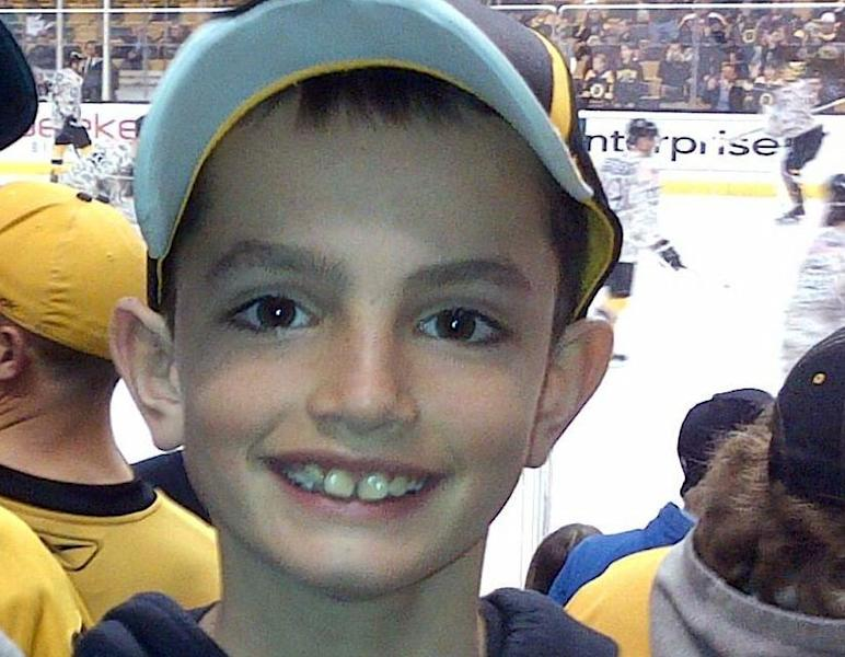 This undated photo provided by Bill Richard shows his son, Martin Richard, in Boston. Martin Richard, 8, was among the at least three people killed in the explosions at the finish line of the Boston Marathon Monday, April 15, 2013. (AP Photo/Bill Richard)