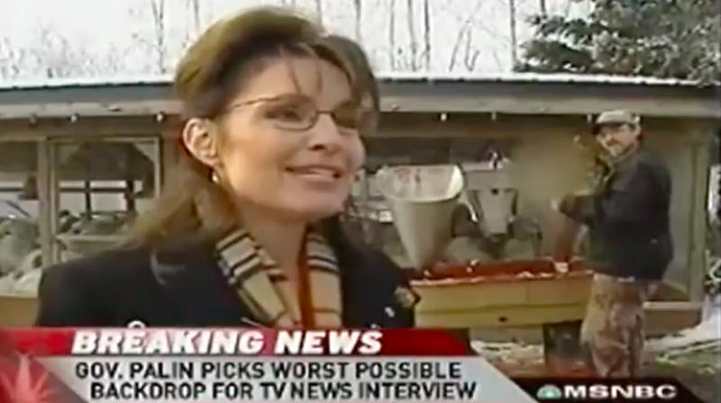 A Tribute To The Most Cringeworthy Turkey Pardon Of All Time, Featuring Sarah Palin