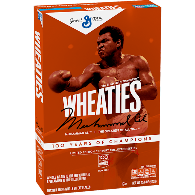 Wheaties Celebrates Its 100th Birthday With Limited Edition Muhammad Ali Commemorative Box