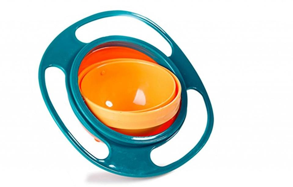 <p>A bowl that's engineered to be spill resistant, so no more dropped food or tears. $7.99 (£6) [Photo: Amazon] </p>