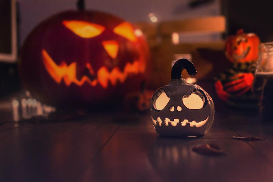 <p>How adorable is this Jack Skellington pumpkin from <strong>The Nightmare Before Christmas?</strong></p>