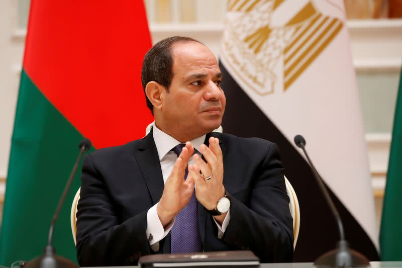 Egypt is committed to a diplomatic solution to Ethiopia's dam crisis, Sisi says